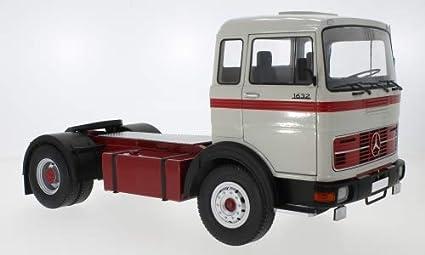 1:18 Road Kings Mercedes LPS 1632 1969 grey//red