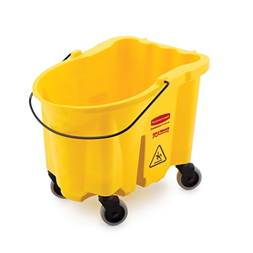 (Rubbermaid Commercial FG747000YEL Bucket, 26-Quart Capacity)