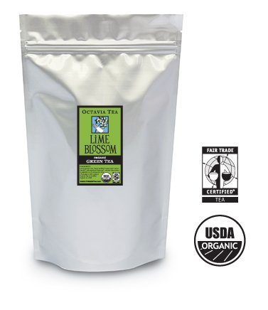 Lime Blossom Tea - Octavia LIME BLOSSOM organic, fair trade green tea (bulk)