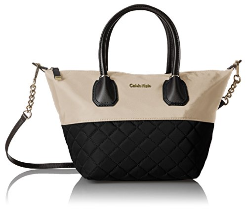 Calvin Klein Florence Quilted Nylon Large Top Zip Tote by Calvin Klein