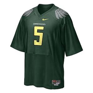 Nike Oregon Ducks Replica Football Jersey - #5 Green