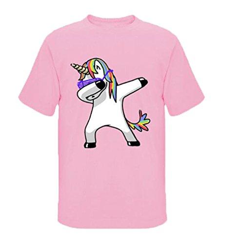 Fashion T Chemises Homme Rond Blouse Ailient Colour11 Imprimés Top Manches Courtes shirts Décontractée Tendance Col Licorne Été qERdxx5wO