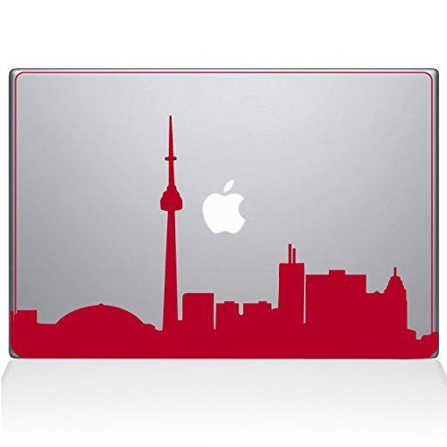 祝開店!大放出セール開催中 The Decal Guru Sticker 2076-MAC-13X-DR Toronto Cityscape Cityscape Decal Vinyl Sticker B0788JD3YM Red 13\ MacBook Pro (2016 & Newer) [並行輸入品] B0788JD3YM, 京の呉服屋雅サロン:f58945ef --- a0267596.xsph.ru