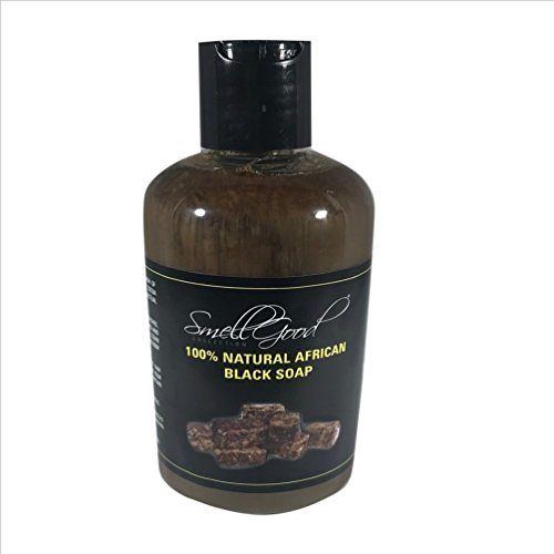 African Black Soap Liquid 32oz - 2 Mail Priority Usps Lbs