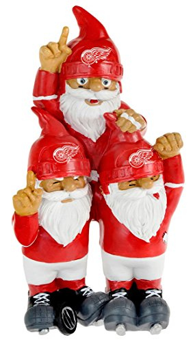 Team Celebration Gnomes (NHL Detroit Red Wings Team Celebration Gnome)