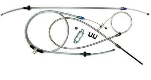 A-3-3 Compatible With 1970-74 E-body Challenger w//o inner Emergency Parking Brake Cable Set Kit OE