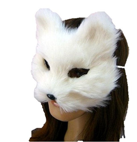 T2C Fox Mask Masks for Party Halloween Cosplay (Plus Size Sailor Moon Costume)