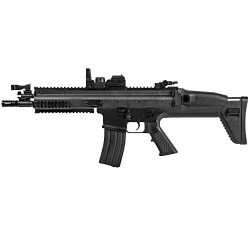 Airsoft-Pack Duo Fusil et Pistolet à Billes FN Scar électrique et FNS-9 à Ressort (0.5 Joule) + 500 Billes 4