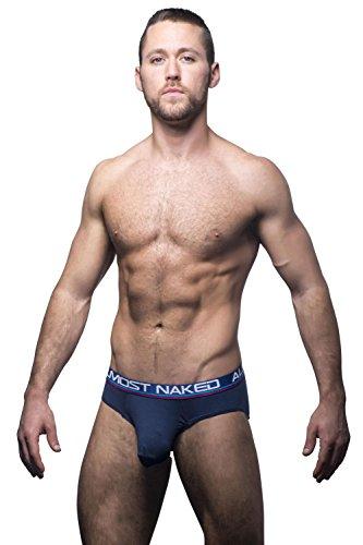 Naked Marine Sports Workout Andrew amp; Almost 90252 Christian Noir Homme Slip EqP7B