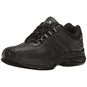 Dr. Scholl's Women's Kimberly II Work Shoe, Black, 7 M US