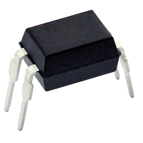 Transistor Output Optocouplers H. Relblty 5300 Vrms 63-125% CTR Pack of 100 (VO618A-2) by VISHAY SEMICONDUCTORS (Image #1)