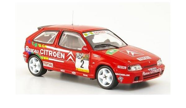 Citroen ZX 16V, No.2, Reseau Citroen, Rally du Rouerque, 1994, Modelo de Auto, modello completo, SpecialC.-42 1:43: Amazon.es: Juguetes y juegos