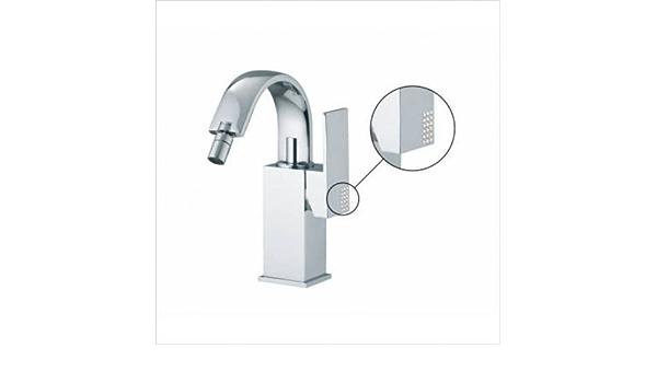 Brick Single Handle Horizontal Spray Bidet Faucet With Swivel Spout Finish Brushed Nickel Amazon Com