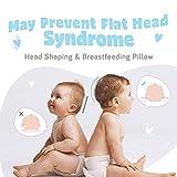 Newborn Baby Pillow, Memory Foam Cushion for Flat