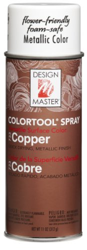 Glitter Aerosol Spray (Design Master 733 Copper Colortool Spray)