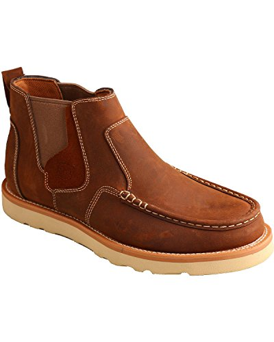 Twisted X Mens Casual Pull-on Shoes Moc Toe - Mca0013 Brown usgq5FVKW