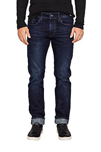 Jeans Dark Slim Esprit 901 blue Uomo Wash Blu vCFxwqBd