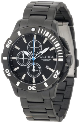 Resin Watch Dive Case (Nautica Men's N23536G Bfd 101 Dive Style Chrono Watch)