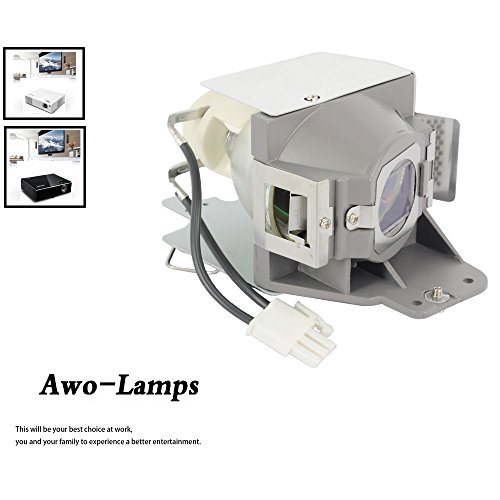 AWO MC.JFZ11.001 RLC-079 5J.JCA05.001 Premium Replacement Lamp with Housing For ACER H6510BD P1500 and For VIEWSONIC PJD7820HD PJD7822HDL and For BENQ DW843UST DX842UST MW831UST MW843UST MX842UST ()