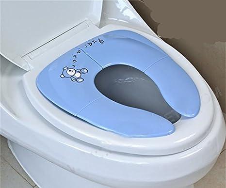Tomkity Asiento de inodoro para ni/ños Tapa WC Plegable