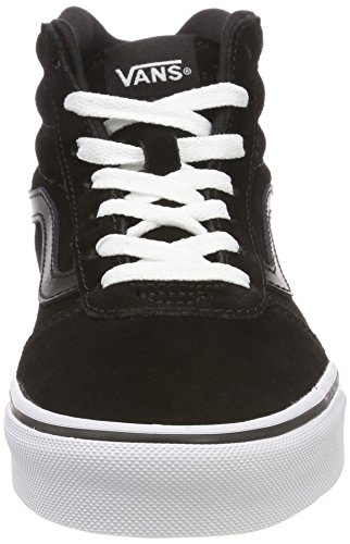 Black Hautes Vans Baskets Suede Hi 0xt suede Femme Ward white Noir xqx6SnOH