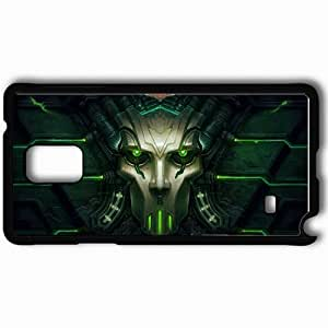 Personalized Samsung Note 4 Cell phone Case/Cover Skin Allods Online Black