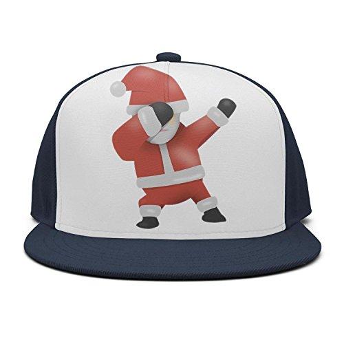 28fad555 Quenei Miex Women's Men's Adjustable Baseball Cap Funny Dabbing Santa  Christmas Snapback Hat