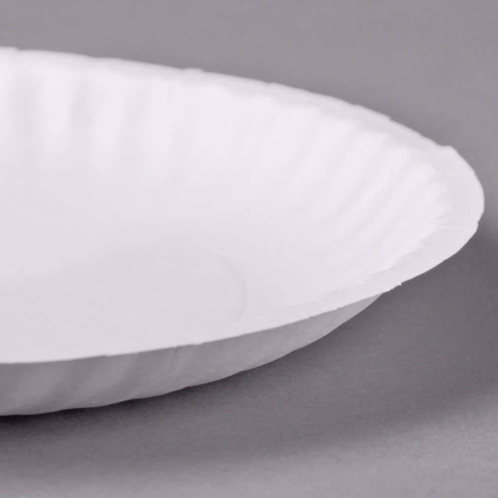 Perfectware Perfectware Paper Plate 6-300 6'' Paper Plate, White (300 Count) (Pack of 300)