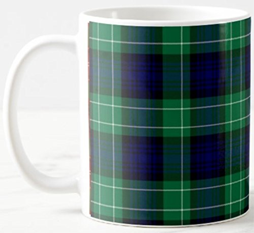 Price comparison product image Scottish Clan Abercrombie Tartan on 11 Oz. Ceramic Coffee Mug