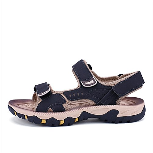 pantofole Scarpe spiaggia 24 0 39 Beach Marrone Blu 0 Sandali Magic Sandal Stick Shoe Outdoor da CM Men's 27 Dimensione Sports 1 Traspiranti EU 3 Colore Wagsiyi dUwPad