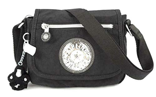 Kipling Sabian Alabaster Crossbody Mini Bag (One Size, Black GPL)