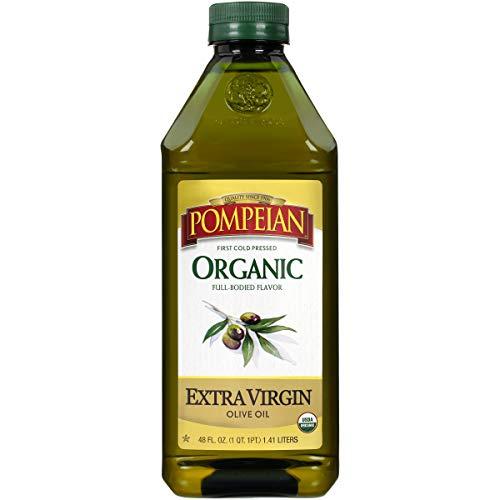 Pompeian Organic Extra Virgin Olive Oil - 48 Ounce