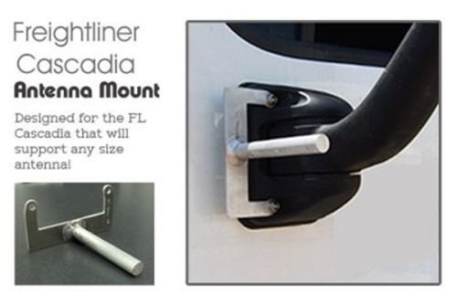 Pro Trucker CB Radio Antenna Mount for Freightliner Cascadia Truck A Supports Up to 5 Antennas CASMOUNT
