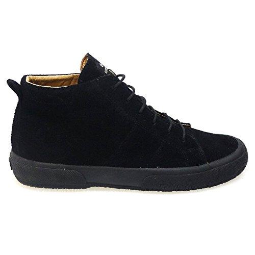 e30d8176ffa98 Botas Piel Superga Hombre 2754 DSUEU Negro  Amazon.es  Zapatos y  complementos