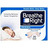 Breathe Right - 2391316 - 30 bandes nasales Natural Regular