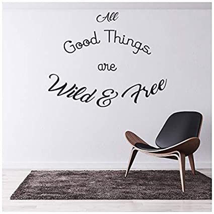Positive Thoughts Wall Sticker Inspirational Quote Wall Decal Kitchen Home Decor