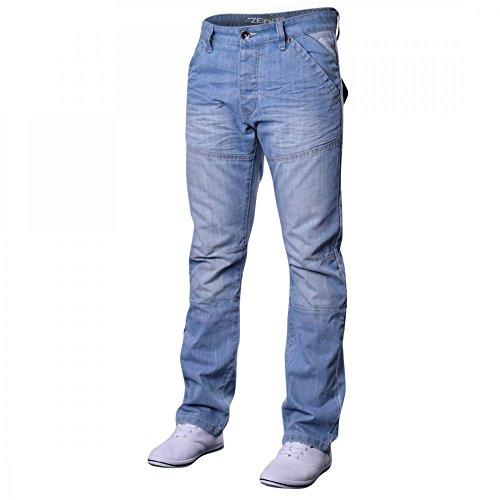 Slavati Jeans ez243 Candeggiati Luce Uomo ez243 Enzo Design Blu Candegginati SXWwx7A7qn