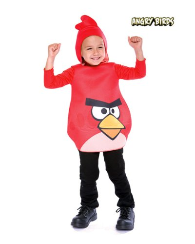 Angry Birds Red Bird Costume - 3T/4T