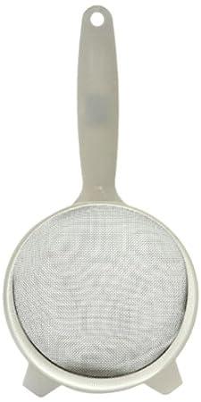 Norpro 2132 Stainless Strainer, 2-1/2-Inch, White
