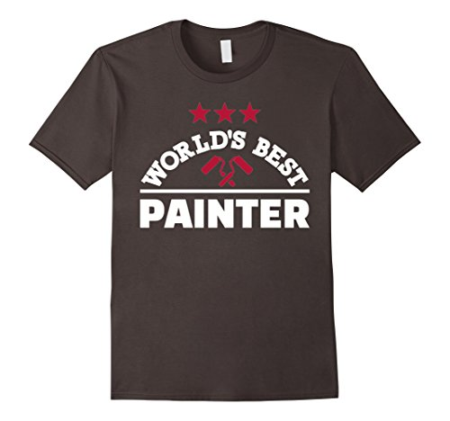 Mens World's best painter T-Shirt 2XL - Best Worlds Painters
