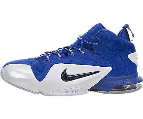 Nike Men's Zoom Penny Vi Game Royal/Black-White High-Top Basketball Shoe - 9.5M