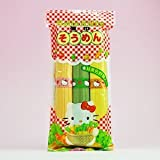 Hello Kitty Somen green and yellow vegetables containing 300g X3 bag set (Hello Kitty green and yellow vegetables noodles) (Kanesu noodle)
