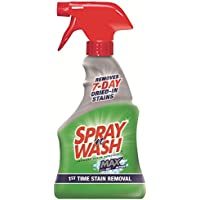 Spray n Wash Max Laundry Stain Remover, 16 fl oz Bottle (Pack of 8)