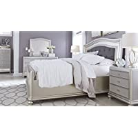 Ashley B650 Coralayne (4 pc) King Bedroom Set – In Home White Glove Delivery Included