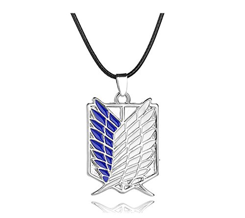 Titan Wing - Attack on Titan Necklace - Attack on Titan Wings of Liberty Necklace - Attack on Titan Survey Corps Necklace - Attack on Titan Wings of Freedom Necklace