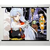Home Decor Anime Cosplay Inuyasha Sesshomaru Wall Scroll Poster 23.6 x 17.7 Inches-006