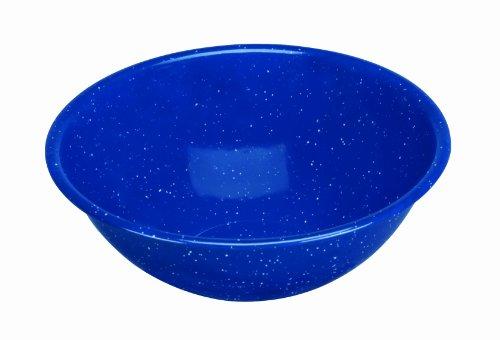 Cinsa 311347 Camp Ware Bowl, 33-Ounce, Royal Speckled Blue