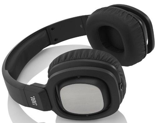 - JBL J88i Premium Over-Ear Headphones with JBL Drivers, Rotatable Ear-Cups and Microphone - Black