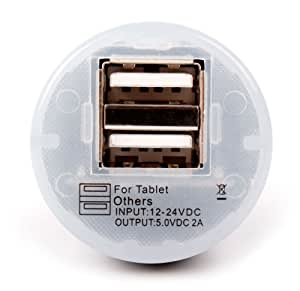 DURAGADGET Cargador De Coche Compatible con BQ Edison 3 ...