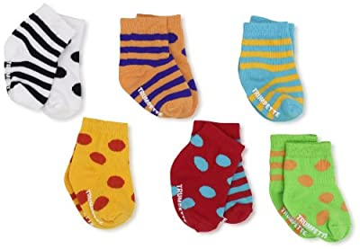 Trumpette Unisex-baby born Bright Cheeritoes Sock Set from Trumpette